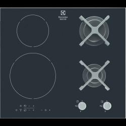 Placa de inducción mixta de 4 zonas y 60 cm Electrolux EGD6576NOK